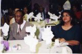 Larry Little at Dr. Ike Okonta's Wedding Reception